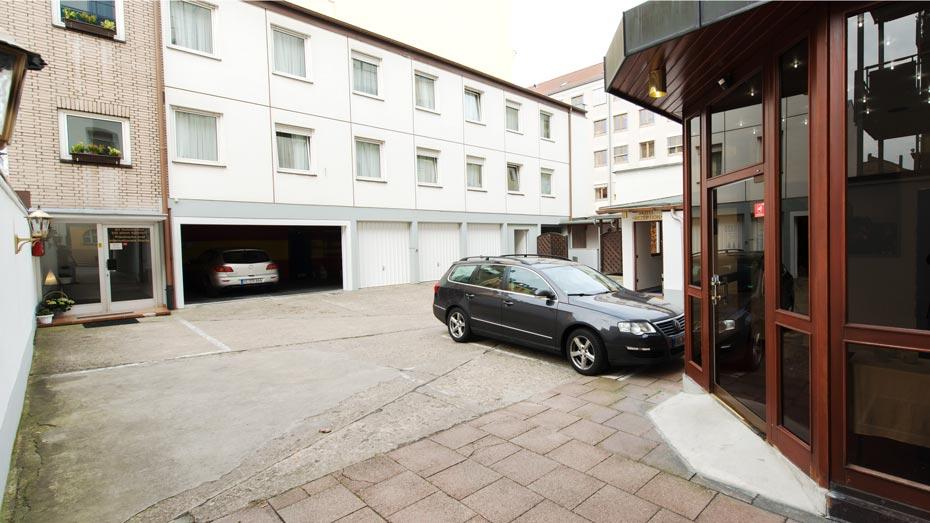 Hotel Gerhard Parkplatz